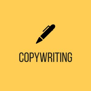 "Click to reach ""Copywriting"" page"