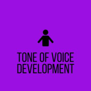 """CLick to reach the """"tone of voice development"""" section of Seed Copywriting"""