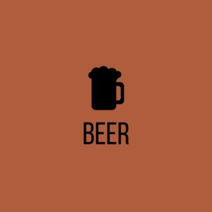 Click to reach the beer section of the website